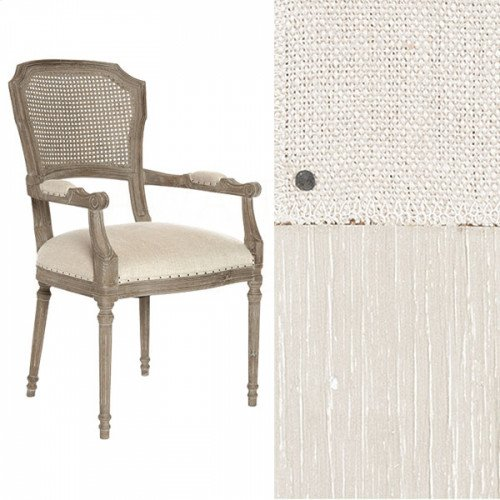 Chelsea Cane Back Parker Gray Dining Chair