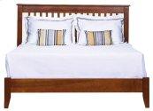 Rossport Low Profile Bed, Wood Rails & Wooden Slats