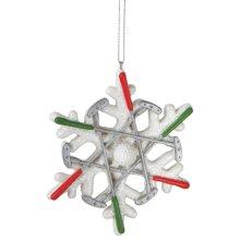 Golf Snowflake Ornament.