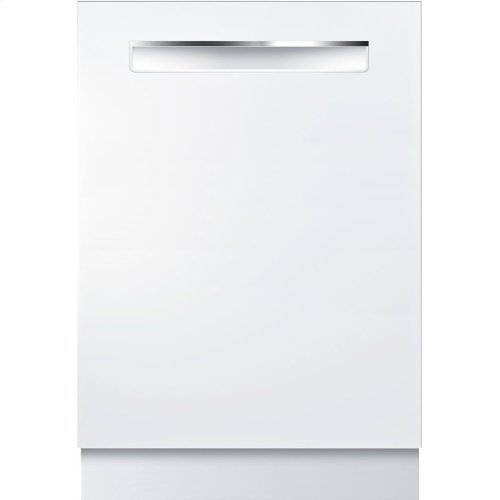 800 Series built-under dishwasher 24'' White SHPM78W52N