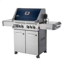 Prestige® 500 with Infrared Side and Rear Burners with Blue Lid