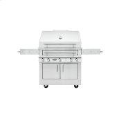 K750 Freestanding Hybrid Fire Grill
