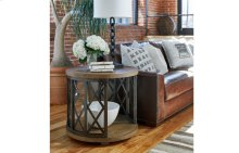 Metalworks Round Lamp Table