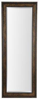 25X65 Dark Gold Framed Mirror Product Image