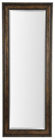 25X65 Dark Gold Framed Mirror Product Image