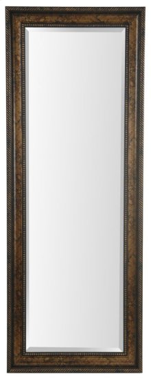 25X65 Dark Gold Framed Mirror