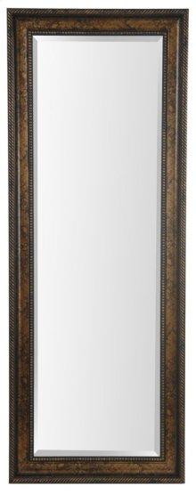25X65 Dark Gold Framed Mirror