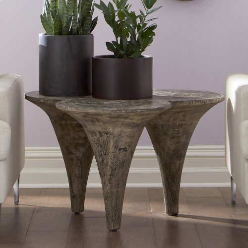 Butterfly Coffee Table, Grey Stone