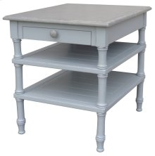 Island Lamp Table - Grey/rw