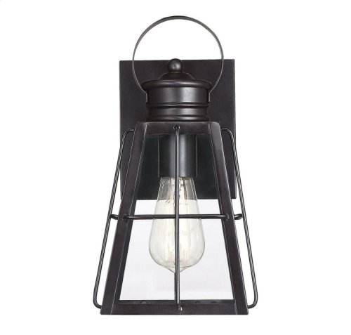 "Quincy 1 Light 12"" Exterior Wall Lantern"