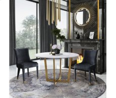 Maxim White Marble Dining Table Product Image