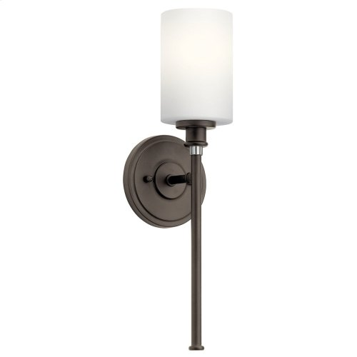 Joelson 1 Light Wall Sconce with LED Bulb Olde Bronze®
