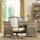 Myra - Executive Desk - Natural Finish Product Image