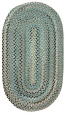 Mineral Grey Crystal Falls Oval Product Image
