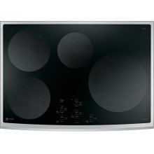 """GE Profile 30"""" Electric Cooktop with Induction Elements"""