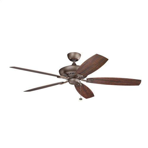 "Canfield XL Patio Collection Canfield XL Patio 60"" Ceiling Fan in TZP"