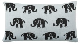 BABY PHANT PILLOW - Sky Blue / Charcoal