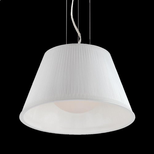1-LIGHT SMALL PENDANT - Chrome
