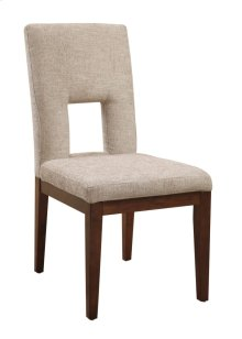 Dining Chair Upholstered Ivory