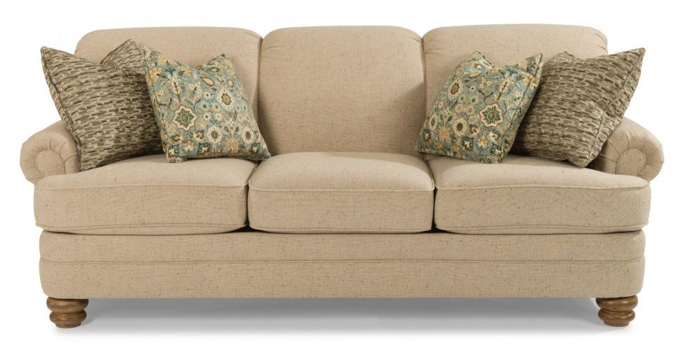 Charmant Bay Bridge Fabric Sofa Without Nailhead Trim