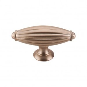 Tuscany T-Handle 2 7/8 Inch - Brushed Bronze