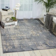 Gleam Ma602 Slate Rectangle Rug 3'10'' X 5'10''