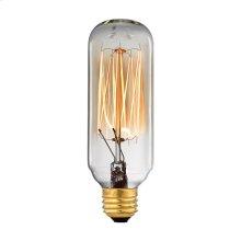 Vintage Filament Light Bulb - 40 Watt Candelabra Base