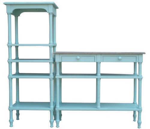 Island Display Shelf- Aqu
