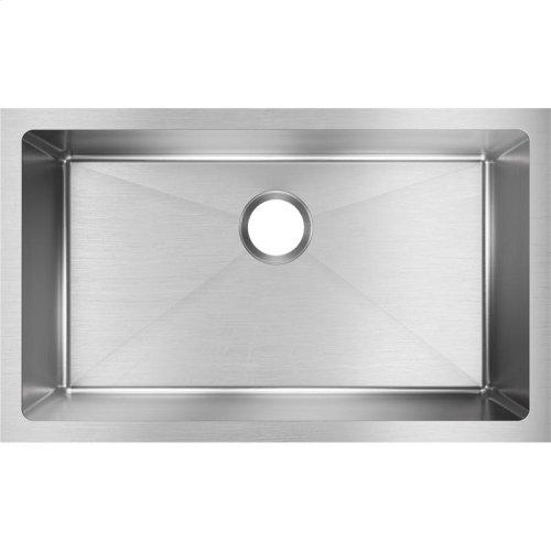 """Elkay Crosstown 16 Gauge Stainless Steel, 30-1/2"""" x 18-1/2"""" x 10"""" Single Bowl Undermount Sink"""