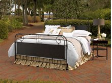 Garden Gate Metal Queen Bed