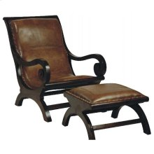 Lazy Chair Antique Brown