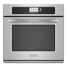 Stainless Steel KitchenAid® 30-Inch Steam-Assist Single Wall Oven, Architect® Series II