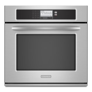 Stainless Steel Kitchenaid(r) 30-Inch Steam-Assist Single Wall Oven, Architect(r) Series Ii