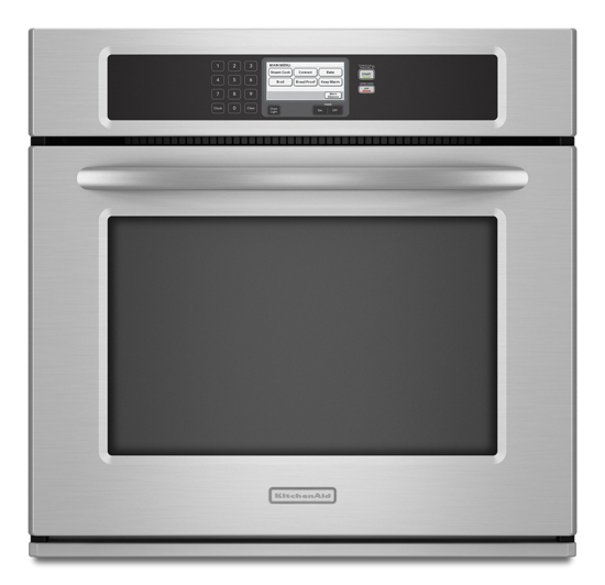 Stainless Steel KitchenAid® 30 Inch Steam Assist Single Wall Oven,  Architect® Series II