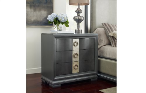Tower Suite - Moonstone Finish Bedside Chest