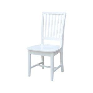 JOHN THOMAS FURNITUREMission Chair in Pure White