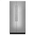 "Jenn-Air42"" Built-In Side-by-Side Refrigerator"