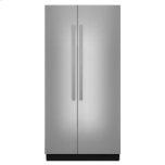 "JENN-AIR42"" Built-In Side-by-Side Refrigerator"