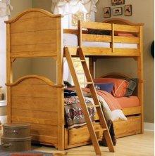 Bunk Bed w/ Trundle Unit
