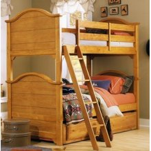 Bunk Bed w/ Trundle Unit