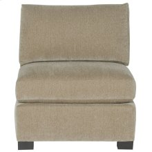 Kelsey Armless Chair in Mocha (751)
