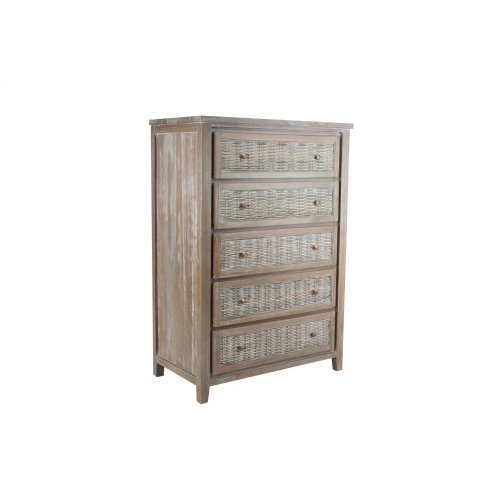 5 Drawer Chest, Available in Vintage Smoke Finsih Only.