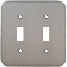 Double Traditional Switchplate