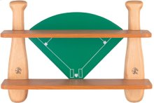 Baseball Mitt Shelf, Natural