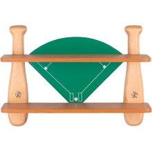 Baseball Mitt Shelf, Natural