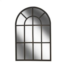 Iron Arched Mirror