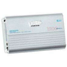 """1200W 4 Channel Full Range, Class A/B Amplifier Dimensions 12.72""""L 7.32""""W 2.07""""H"""