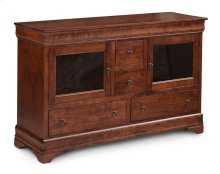 Louis Philippe TV Stand, Extra Large