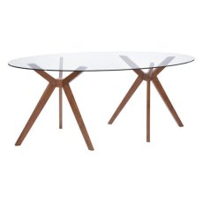 Buena Vista Dining Table Walnut Product Image