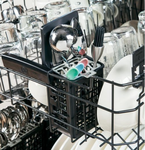GE Profile Series Stainless Steel Interior Dishwasher with Hidden Controls-CLOSEOUT